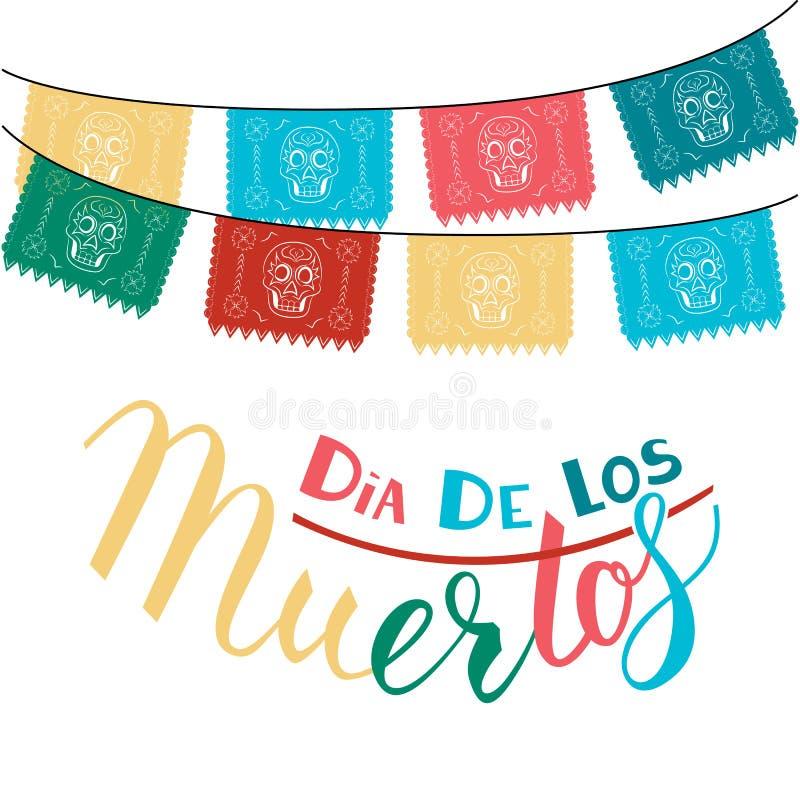 Dia DE Los Muertos royalty-vrije illustratie