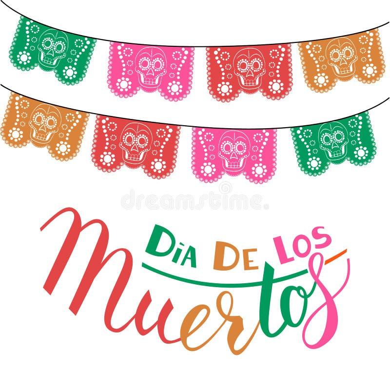 Dia DE Los Muertos stock illustratie