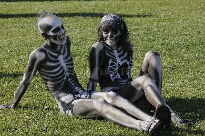 Dia de Los Muertos fotografie stock