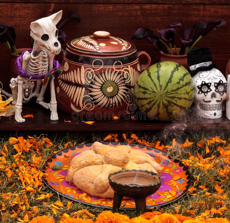 Dia de los Muertos altera fotos de archivo