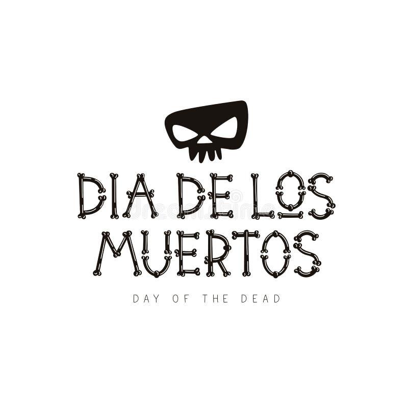 Dia De Los Muertos Día de muerte mexicano libre illustration