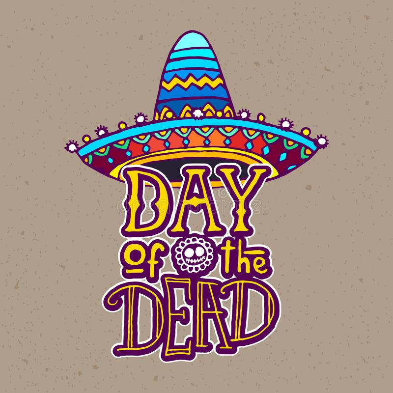 Day of the Dead design template vector illustration