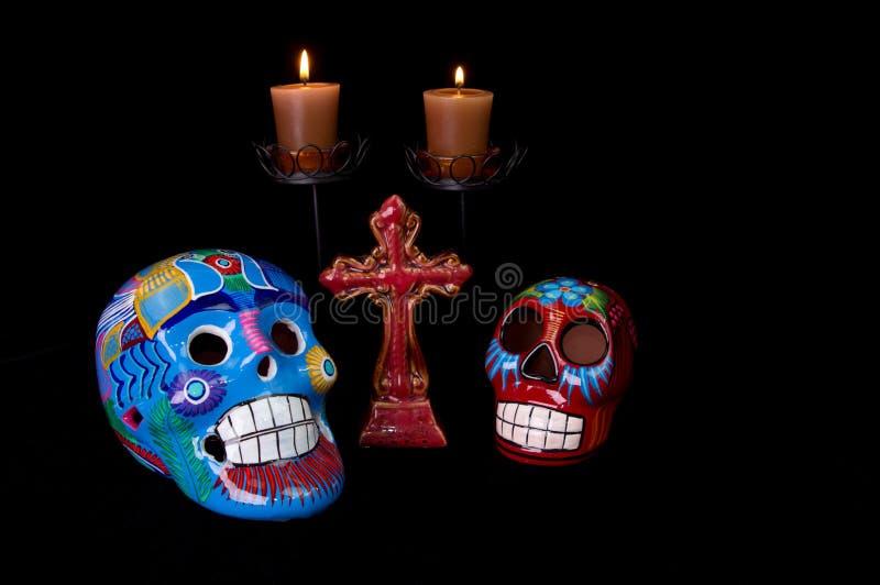 Dia de Los Muertos (jour des morts) modifient images stock