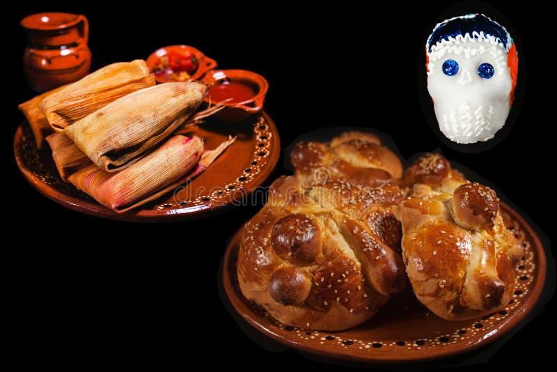 Dia De Los Muertos ofrenda, Day of the Dead offering in México. City royalty free stock images
