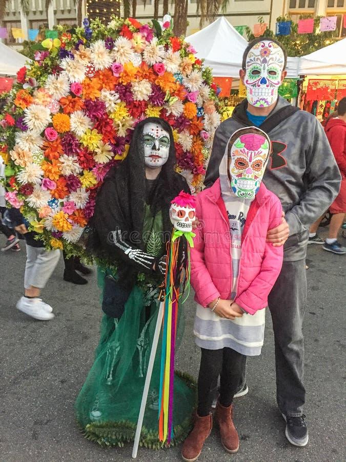 Dia de Los Muertos RWC 图库摄影