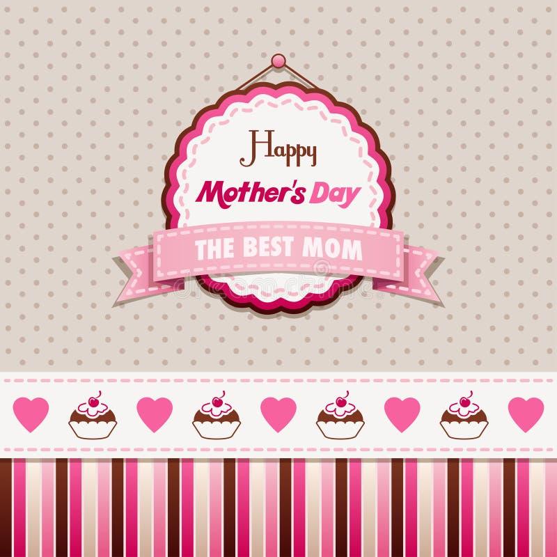 Dia de mães feliz ilustração stock