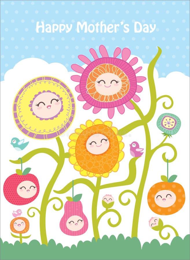 Dia de matriz feliz ilustração royalty free