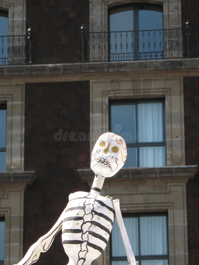 Dia De miasta Meksyk muertos obrazy stock