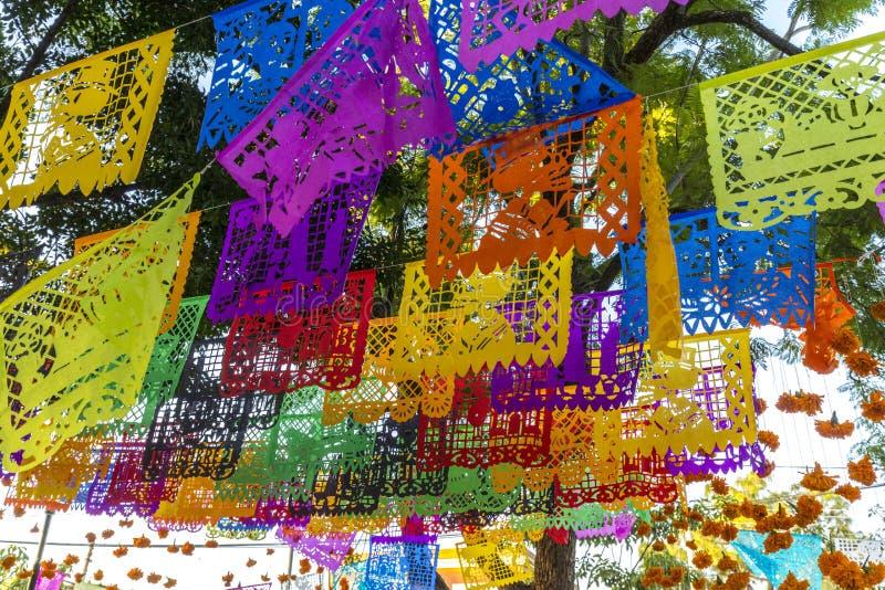 Dia de Muertos Decorations stock afbeeldingen