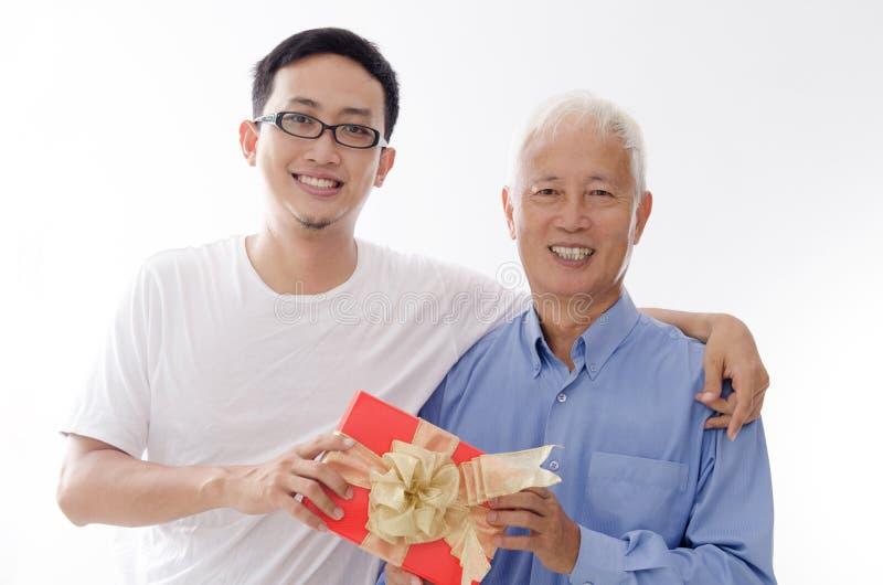 Dia de pais feliz fotos de stock