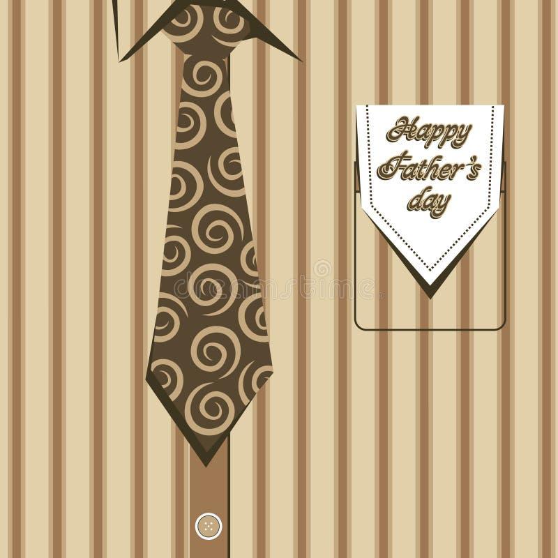 Dia de pais feliz ilustração stock