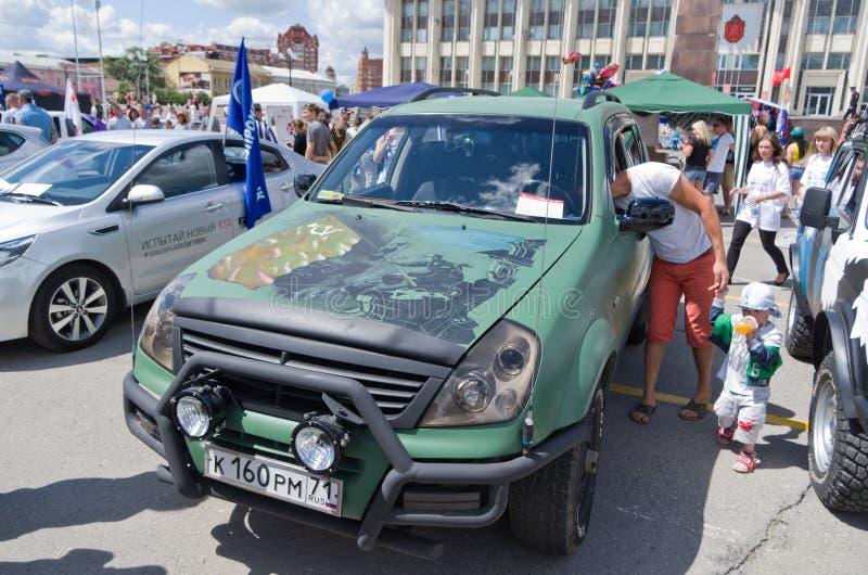 Dia de Rússia em Tula fotos de stock