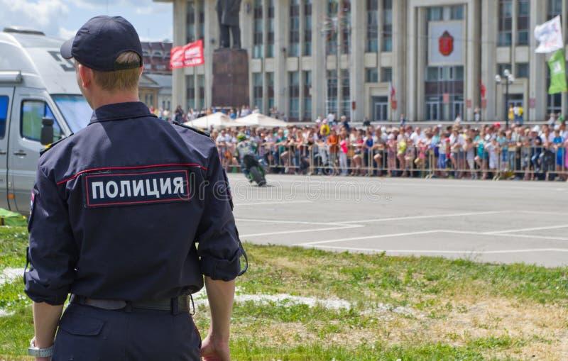 Dia de Rússia em Tula fotografia de stock