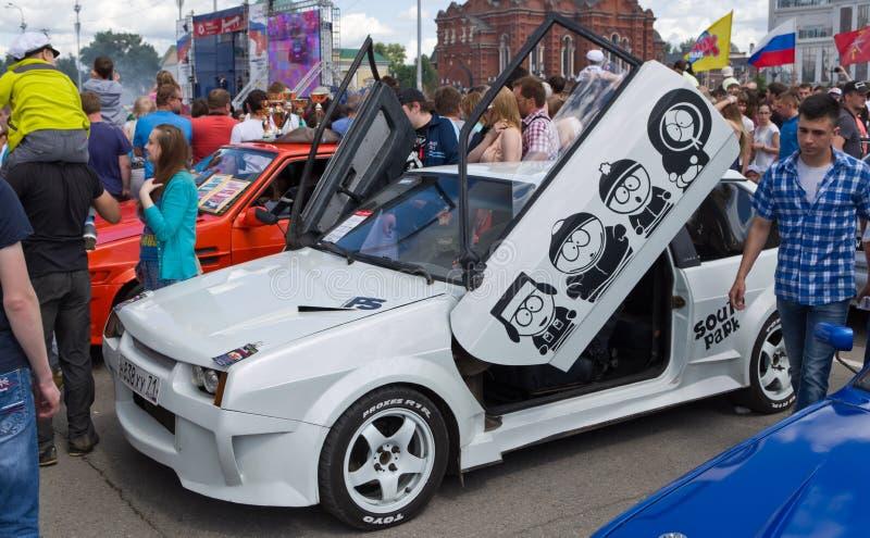 Dia de Rússia em Tula foto de stock royalty free