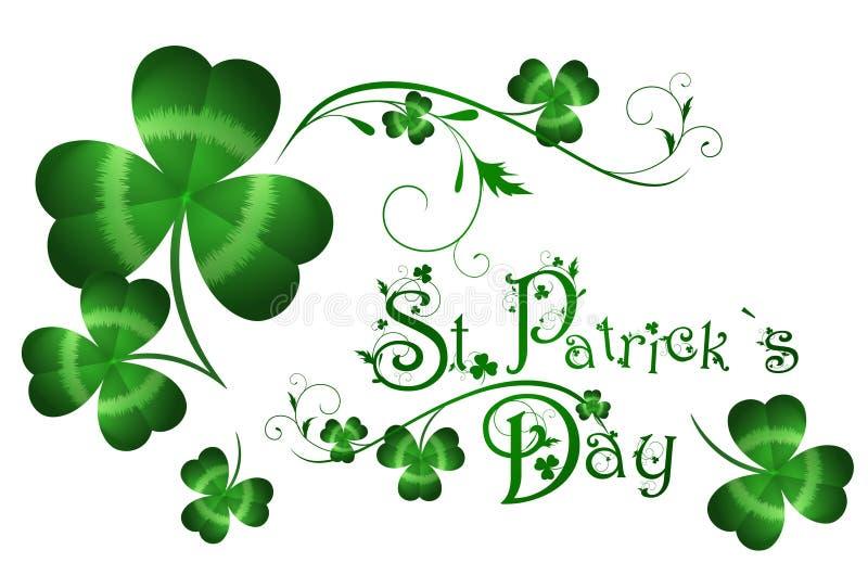 Dia de St.Patrick ilustração royalty free