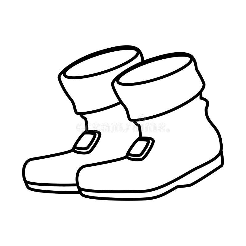 Dia de St Patrick das botas do duende ilustração royalty free