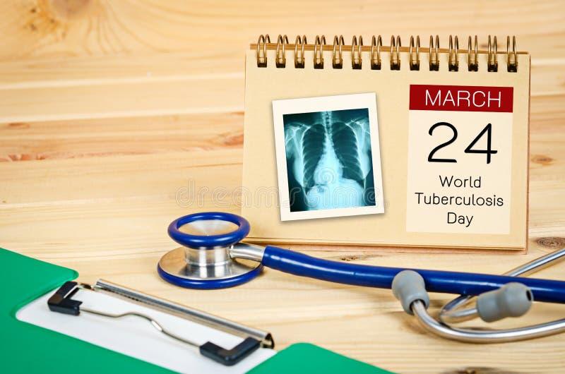 Dia de tuberculose de mundo imagens de stock royalty free