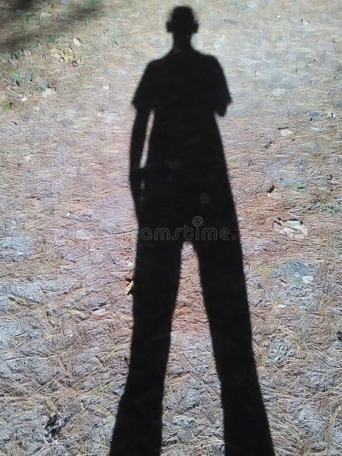 Dia de uma sombra imagem de stock