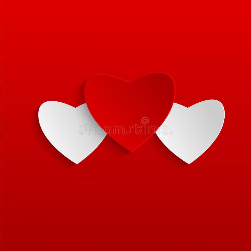 Dia de Valentim do fundo ilustração stock