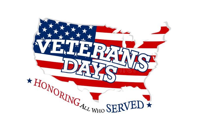 Dia de veteranos, honrando tudo que serviu o 11 de novembro foto de stock
