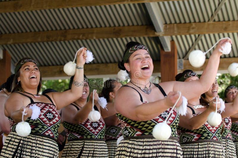 Dia de Waitangi e festival - feriado 2013 de Nova Zelândia foto de stock