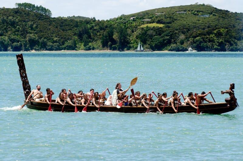 Dia de Waitangi e festival - HOL do público de Nova Zelândia imagens de stock royalty free