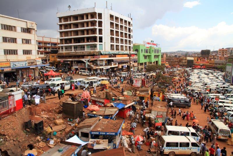 Dia a dia em Kampala foto de stock royalty free