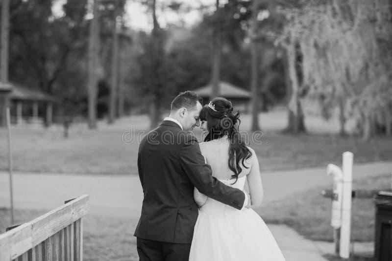 Dia do casamento maravilhoso imagens de stock royalty free