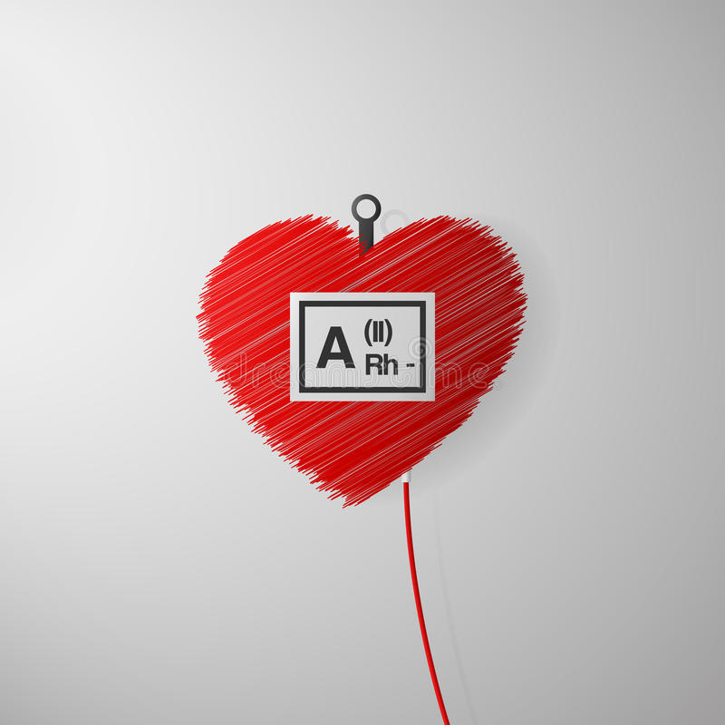 Dia do doador de sangue do mundo fotografia de stock