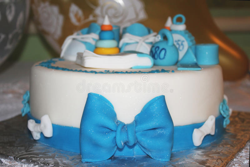 Dia do mather do bolo de aniversário fotografia de stock