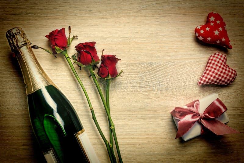 Dia do ` s das mulheres, o 8 de março O dia de Valentim, VISTA SUPERIOR, ESPAÇO da CÓPIA fotografia de stock royalty free