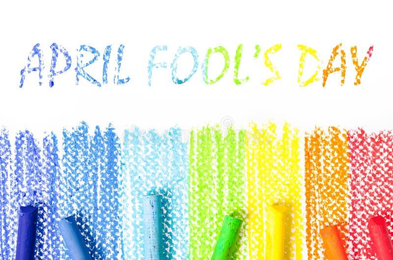 Dia do ` s de April Fool imagem de stock royalty free