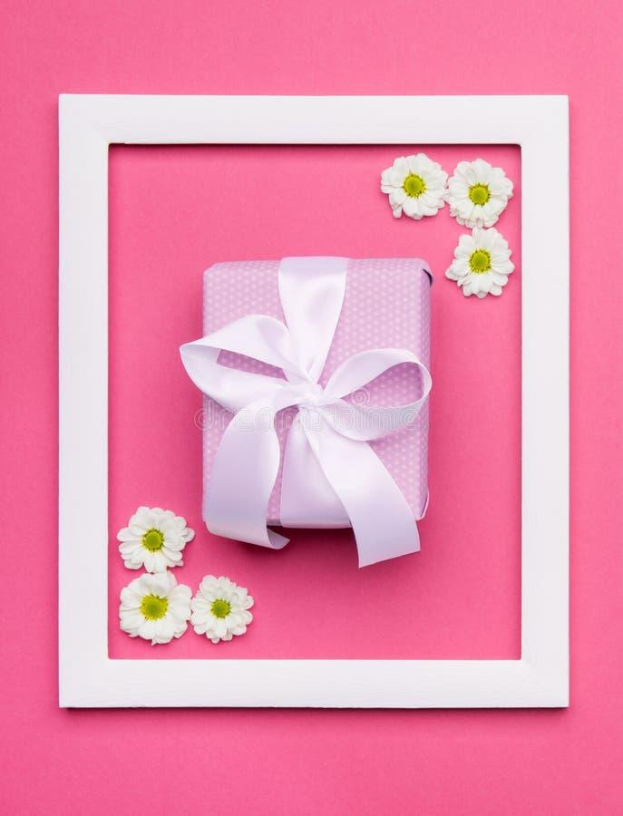 Dia do ` s do dia, do Valentim do ` feliz s do dia, das mulheres do ` s da mãe ou fundo da cor dos doces do rosa pastel do aniver foto de stock royalty free