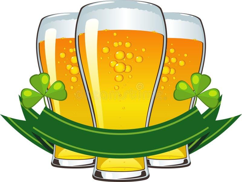 Dia do St. Patrick ilustração royalty free