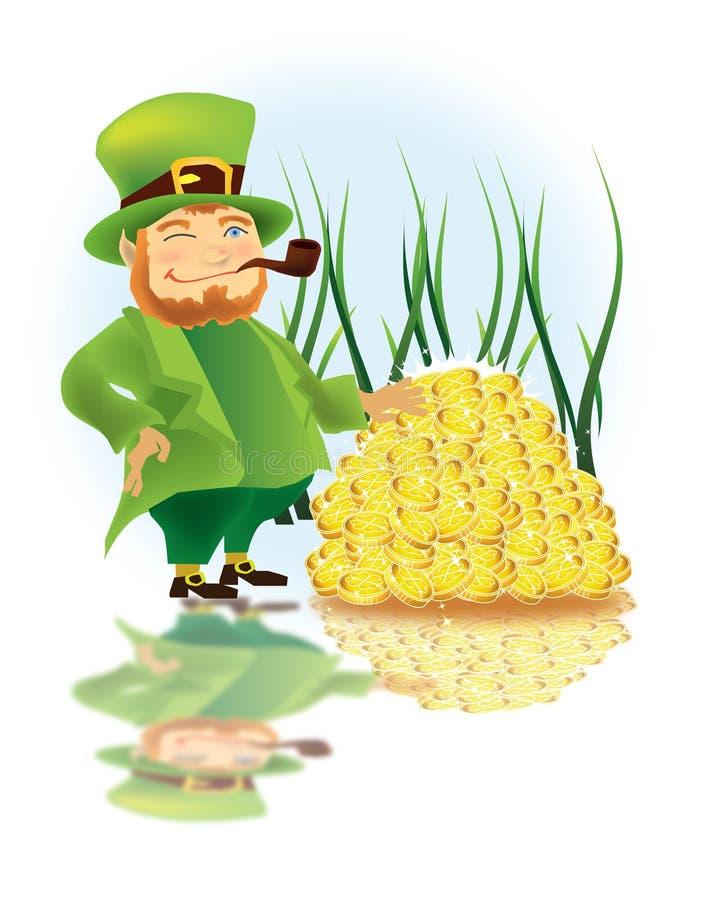 Dia do St. Patrick ilustração stock