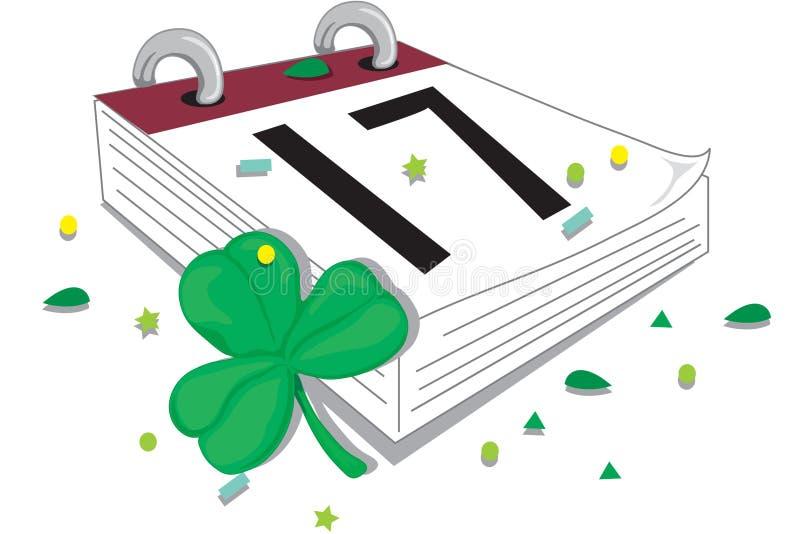 Dia do St. Patrick feliz ilustração stock