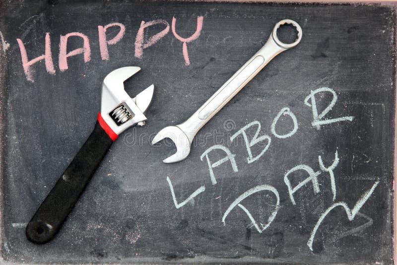Dia do Trabalhador feliz fotografia de stock