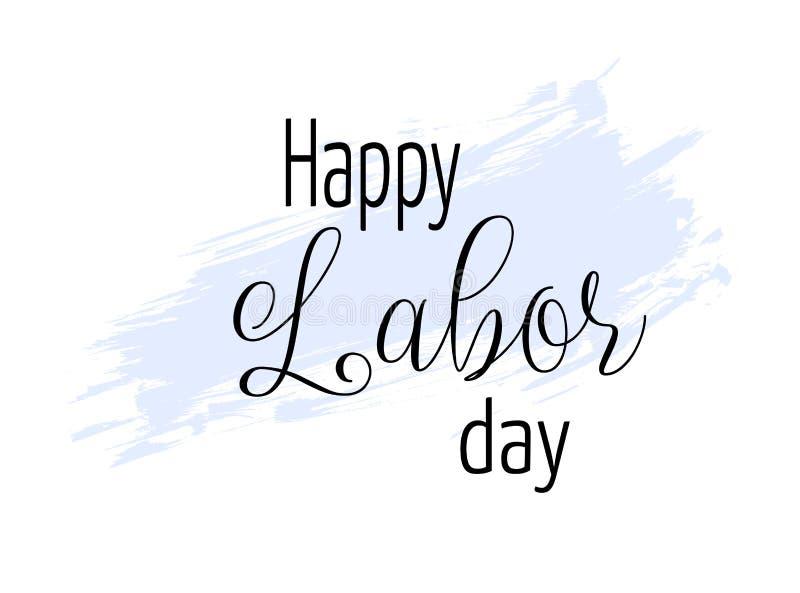 Dia do Trabalhador feliz ilustração stock