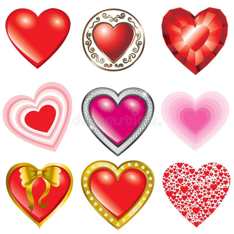 Dia do Valentim de Saint ilustração stock