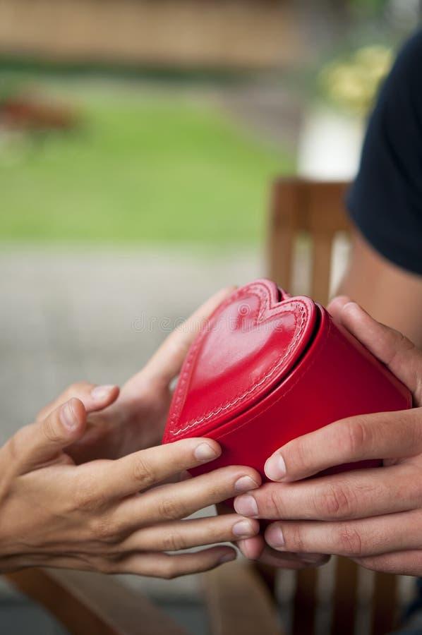 Dia do Valentim, detalhe fotos de stock royalty free