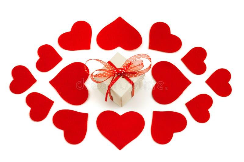Dia do Valentim feliz fotografia de stock royalty free