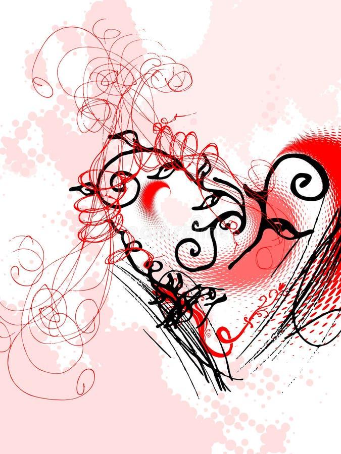 Dia do Valentim, vetor ilustração stock