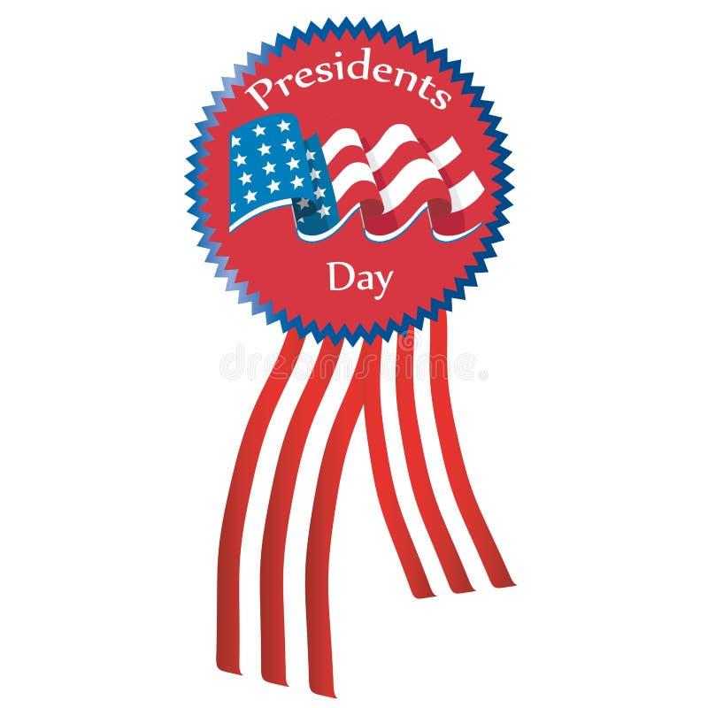 Dia dos presidentes ilustração stock