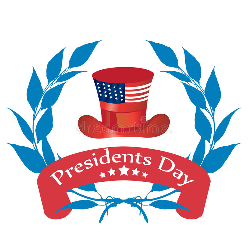 Dia dos presidentes ilustração royalty free