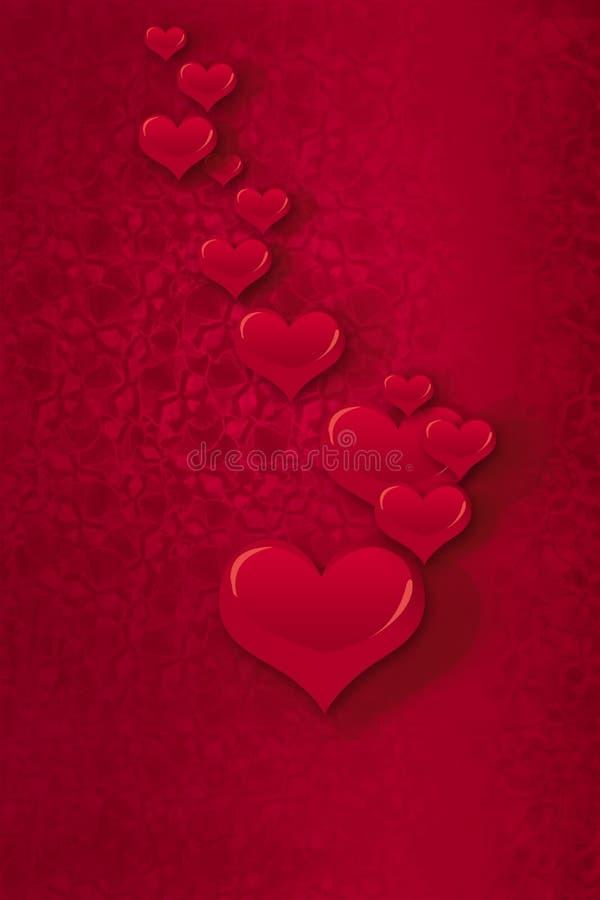 Dia dos Valentim felizes ilustração stock