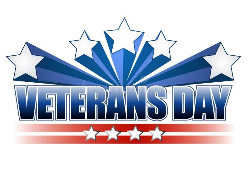 Dia dos veteranos ilustração royalty free