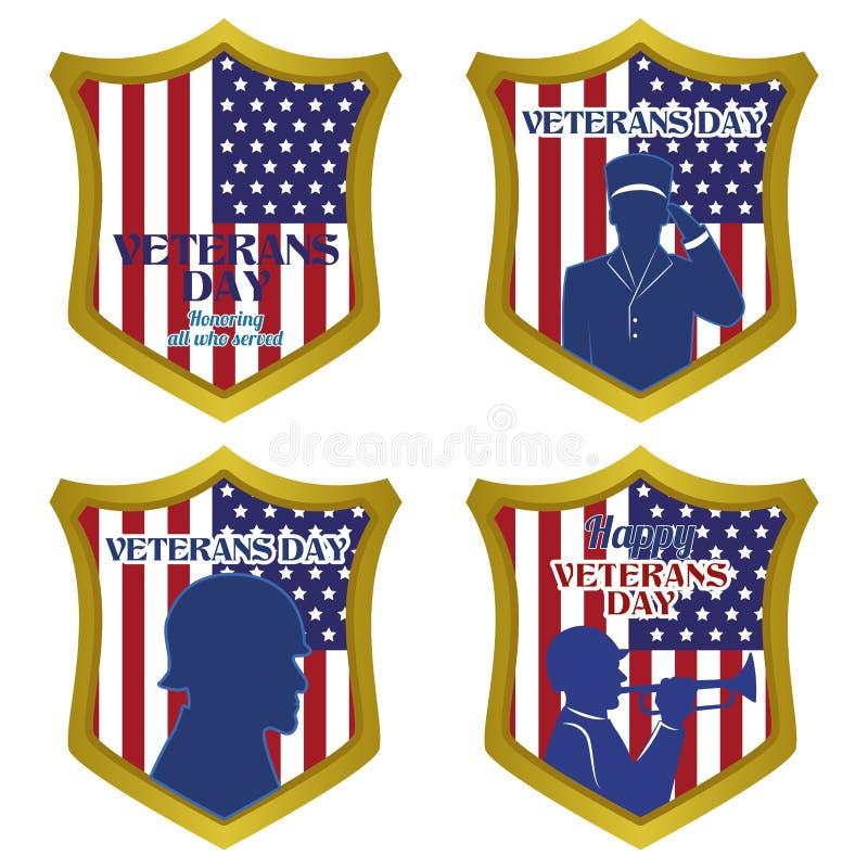 Dia dos Veteranos ilustração stock