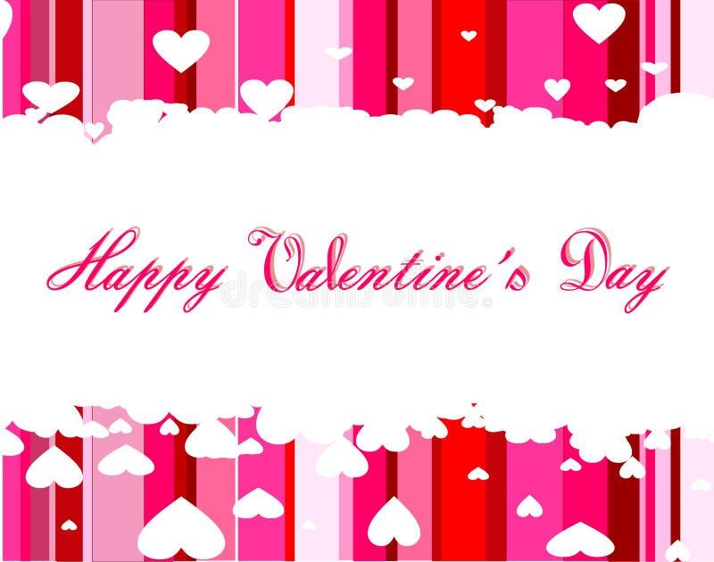 Dia feliz do Valentim s ilustração do vetor