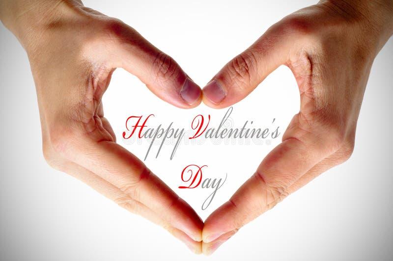 Dia feliz dos Valentim imagem de stock