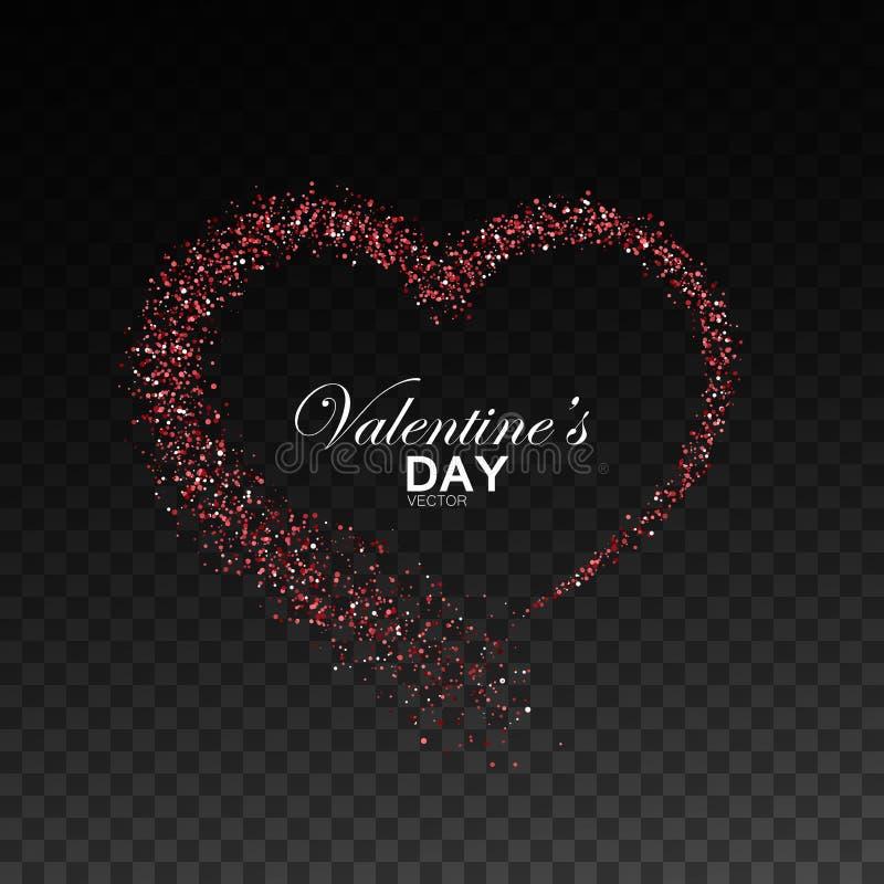 Dia feliz dos Valentim ilustração royalty free